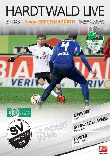 Hardtwald Live, Heft 8, Saison 2015/16