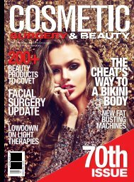 Cosmetic Surgery & Beauty Magazine #70