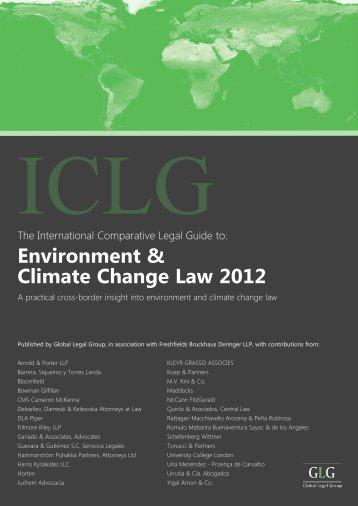 Environment & Climate Change Law 2012 - Bowman Gilfillan ...