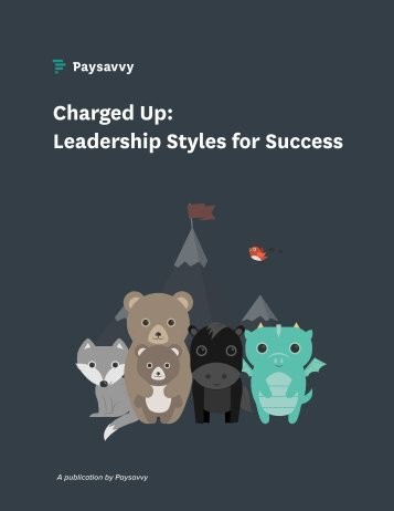 Charged Up Leadership Styles for Success