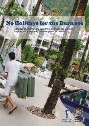 No Holidays for the Burmese