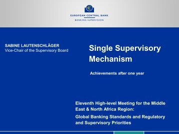 Single Supervisory Mechanism