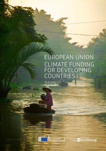 EUROPEAN UNION CLIMATE FUNDING FOR DEVELOPING COUNTRIES