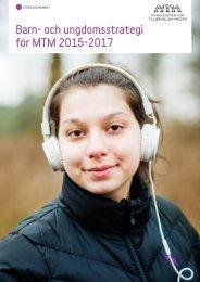 Barn- och ungdomsstrategi för MTM 2015-2017