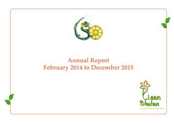 Annual Report February 2014 to December 2015