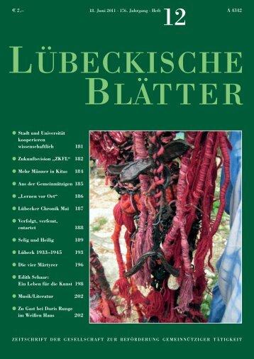 12_LB176.pdf - Lübeckische Blätter