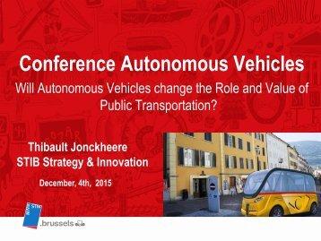 Conference Autonomous Vehicles