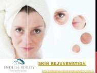 Skin Rejuvenation - Endless Beauty