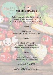 Piazza-Speisekarte-Winter
