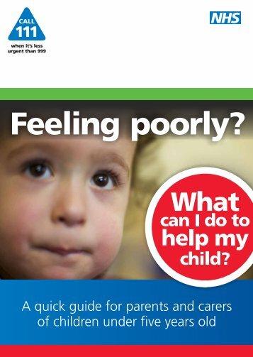 Feeling poorly?