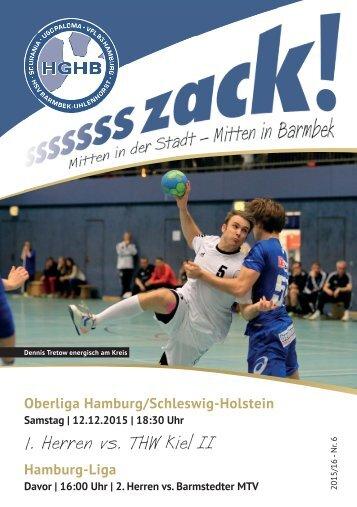 Ssssssszack! HGHB vs. THW Kiel 2