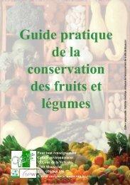 Guide de la conservation des fruits et légumes