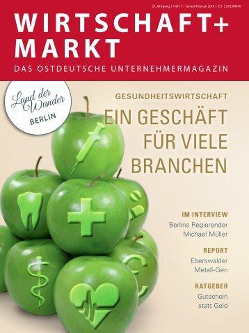 WIRTSCHAFT+MARKT 01-2016