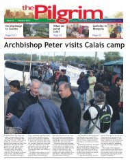 Issue 43 - The Pilgrim - October 2015 - The newspaper of the Archdiocese of Southwark