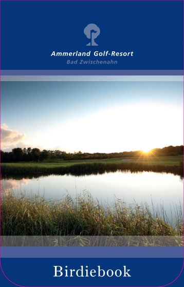 Ammerland Golf-Resort: Birdiebook