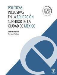 POLÍTICAS INCLUSIVAS EN LA EDUCACIÓN SUPERIOR DE LA CIUDAD DE MÉXICO