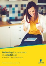 Delivering for consumers in a digital age