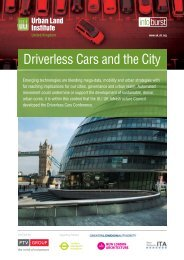 Driverless Cars and the City