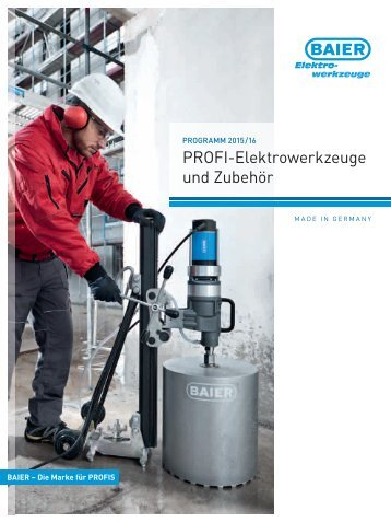 BAIER Produkt-Katalog 2015