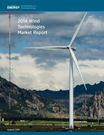 2014 Wind Technologies Market Report