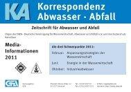 2011 - European Water Association