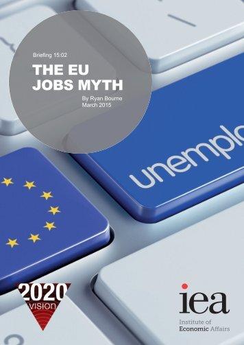 THE EU JOBS MYTH