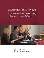 Leadership for a New Era
