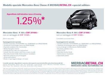 1.25%* - Mercedes-Benz Automobil AG