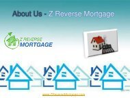 About Us -  Z Reverse Mortgage