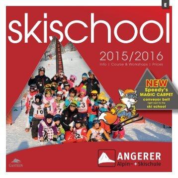 Skischool Angerer Gasteinertal Salzburg Englisch