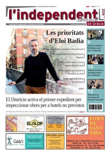 Les prioritats d'Eloi Badia