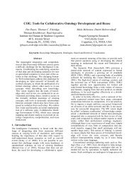 COE: Tools for Collaborative Ontology Development and Reuse