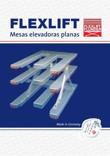 Mesas elevadoras planas - FLEXLIFT Hubgeräte GmbH