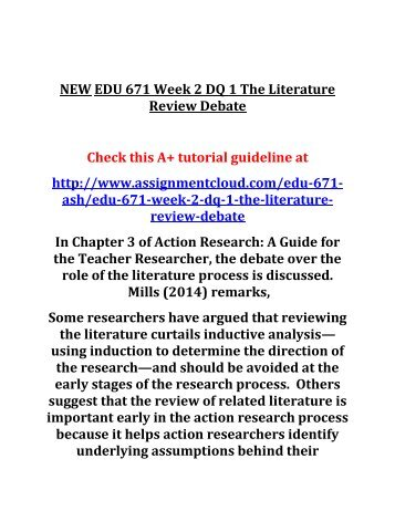 edu 675 week 1 dq 2 Edu 675 week 1 dq 2 school culture and differentiated instruction edu 675 week 1 journal implementing the professional learning community edu 675 week 2 assignment critical thinking questions.