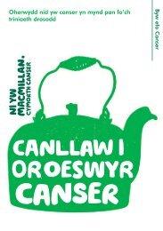1 Effeithiau emosiynol canser - Macmillan Cancer Support