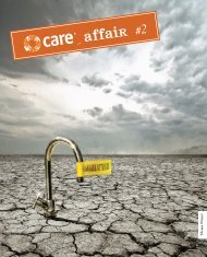 CARE affair #2_Wasser