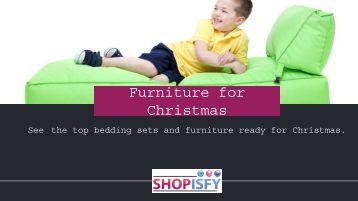 Furniture for Christmas