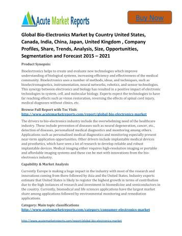 Industry Reports in Food & Beverages