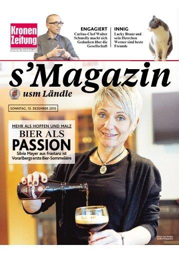 s'Magazin usm Ländle, 13. Dezember 2015