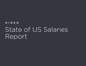 State of US Salaries Report