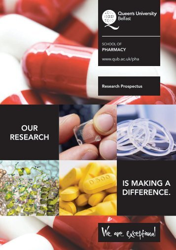 OUR RESEARCH IS MAKING A DIFFERENCE