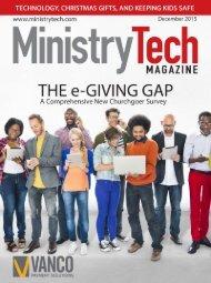 MinistryTech.com | December 2015 1