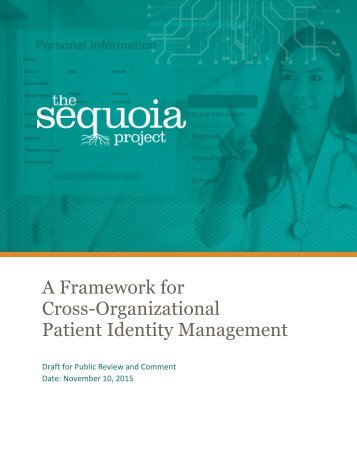 A Framework for Cross-Organizational Patient Identity Management