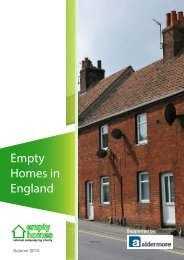 Empty Homes in England