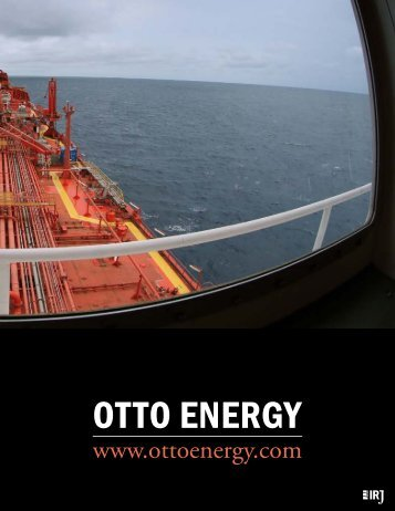 OttO EnErgy - The International Resource Journal
