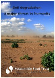 Soil degradation a major threat to humanity