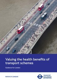 Valuing the health benefits of transport schemes