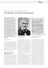 Otto Barblan - Ein Bergler als Kathedralkomponist