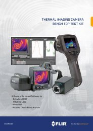 THERMAL IMAGING CAMERA BENCH TOP TEST KIT