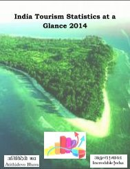 India Tourism Statistics at a Glance 2014